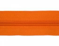 Endlosreißverschluß 5 mm Schiene Fb. 058 orange - OHNE Zipper!!!