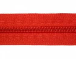 Endlosreißverschluß 5 mm Schiene Fb. 068 hochrot - OHNE Zipper!!!