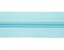 Endlosreißverschluß 5 mm Schiene Fb. 076 aqua - OHNE Zipper!!!