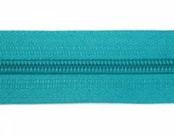 Endlosreißverschluß 5 mm Schiene Fb. 078 türkis - OHNE Zipper!!!
