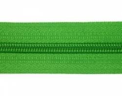 Endlosreißverschluß 5 mm Schiene Fb. 082 grasgrün - OHNE Zipper!!!