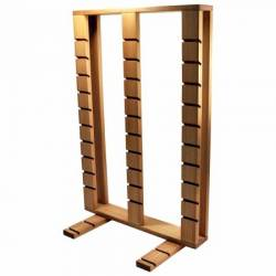 Wooden Ruler Rack zur Aufbewahrung von Linealen