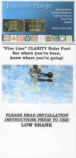 Clarity Ruler Foot