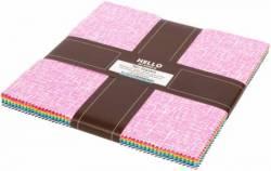 Robert Kaufman 10 inch Squares Violet Craft Modern Classics 42 stk Layer Cake