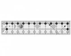 Creative Grids Antirutsch-Lineal  2.5x12.5 inch