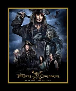 Disney Pirates of the Caribbean PANEL ca. 90 cm Rapport
