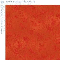 Stof Quilters Basic Perfect Orange Blümchen rotorange