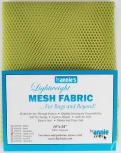 Lightweight Mesh Fabric Applegreen Netzstoff apfelgrün