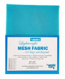 Lightweight Mesh Fabric Parrotblue Netzstoff papageienblau