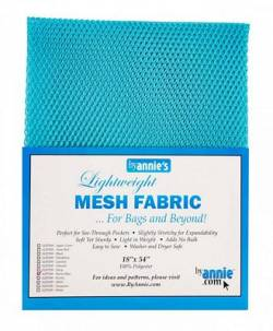 Lightweight Mesh Fabric Black Netzstoff schwarz