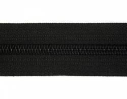 Endlosreißverschluß 8 mm Schiene Fb. 089 schwarz - OHNE Zipper!!!