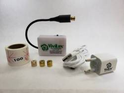 Vivilux Laser, wiederaufladbar, grünes Licht mit Magnetbandbefestigung