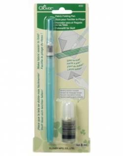 Clover Fabric Folding Pen, Faltstift für Stoffe