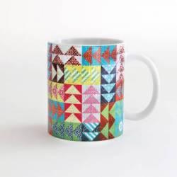 Quilt Happy - Flying Geese Mug Kaffeebecher