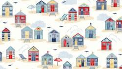 Makower Sail Away Beach Huts Strandhäuser auf natur