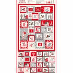 Makower Scandi Christmas Adventskalender 2020, ca. 60 cm Rapport