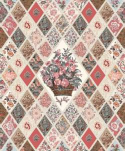 Jane Austen At Home Diamond Panel Rapport ca. 60 cm