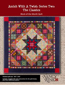 Anleitung Amish With A Twist 2 Block of the Month