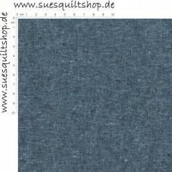 Robert Kaufman Essex Nautcial Linen, Leinen-Mischgewebe blau