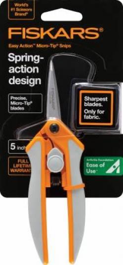 Fiskars Schere, Softouch Micro Tip Scissors No. 5