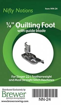Singer Featherweight 221/222 Füßchen Metall, mit seitlicher Führung