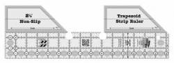 Creative Grids Non-Slip Trapezoid Single Strip Ruler