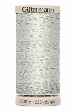Gütermann Handquiltgarn 100% Baumwolle 200 m Fb. 0618 grau