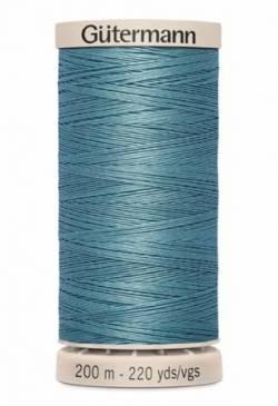 Gütermann Handquiltgarn 100% Baumwolle 200 m Fb. 7325 graublau