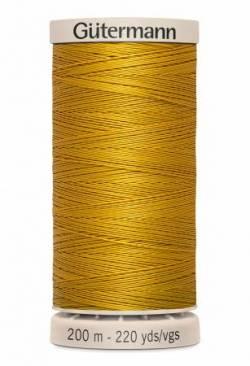 Gütermann Handquiltgarn 100% Baumwolle 200 m Fb. 0956 gold