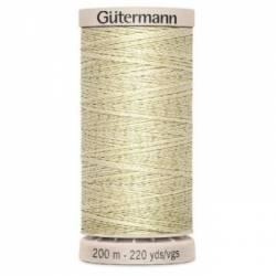 Gütermann Handquiltgarn 100% Baumwolle 200 m Fb. 0829 ecru