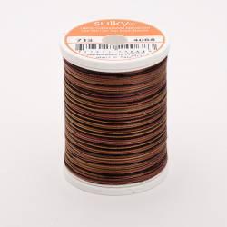 Sulky Cotton 12, 270 m, Fb. 4068 Dark Chocolate Multicolour