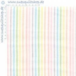 P&B Flannel Streifen regenbogen *FLANELL*