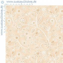 Henry Glass Creamery Neutrals Crazy Floral