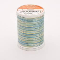 Sulky Cotton 12, 270 m, Fb. 4125 Butter & Sky Multicolour