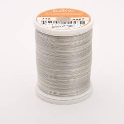 Sulky Cotton 12, 270 m, Fb. 4027 Silver Slate Multicolour