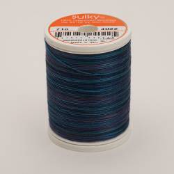 Sulky Cotton 12, 300 m, Fb. 4022 Midnight Sky Multicolour