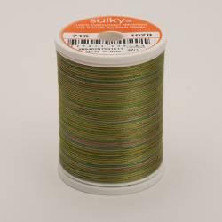 Sulky Cotton 12, 300 m, Fb. 4020 Moss Medley Multicolour