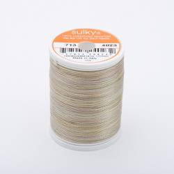 Sulky Cotton 12, 300 m, Fb. 4023 Natural Taupe Multicolour