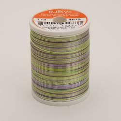 Sulky Cotton 12, 270 m, Fb. 4073 Lilac Meadow Multicolour