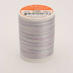 Sulky Cotton 12, 270 m, Fb. 4071 Pale Amethyst Multicolour