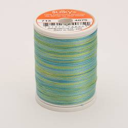Sulky Cotton 12, 300 m, Fb. 4075 Celadon Multicolour