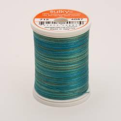 Sulky Cotton 12, 300 m, Fb. 4087 Blue Heaven Multicolour