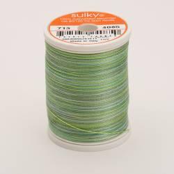 Sulky Cotton 12, 270 m, Fb. 4085 Green Tea Multicolour