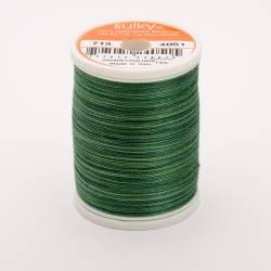 Sulky Cotton 12, 300 m, Fb. 4051 Forever Green Multicolour
