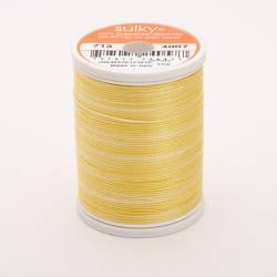 Sulky Cotton 12, 270 m, Fb. 4057 Fresh Butter Multicolour