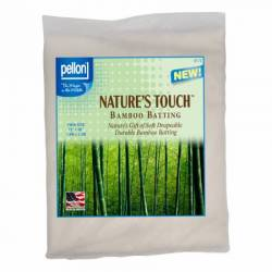 Pellon Natures Touch Bamboo Blend 50% Bambus 50% Baumwolle Twin Size ca. 183 x 228 cm