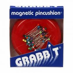 REDUZIERT: Grabbit, Magnetic Pin Cushion, Magnetisches Nadelkissen ROT