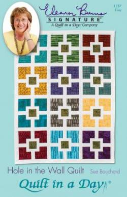 Anleitung Hole in the Wall Quilt - Fat Quarter Friendly