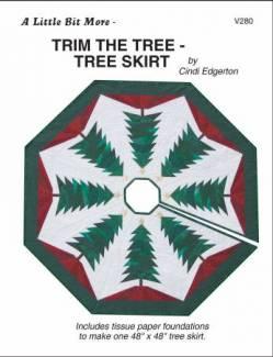 Anleitung Little Bits Trim The Tree SKIRT