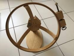 Jasmine Easy Spinner SIT-UPON Quiltrahmen 14 inch >>> GEBRAUCHT, WIE NEU <<<